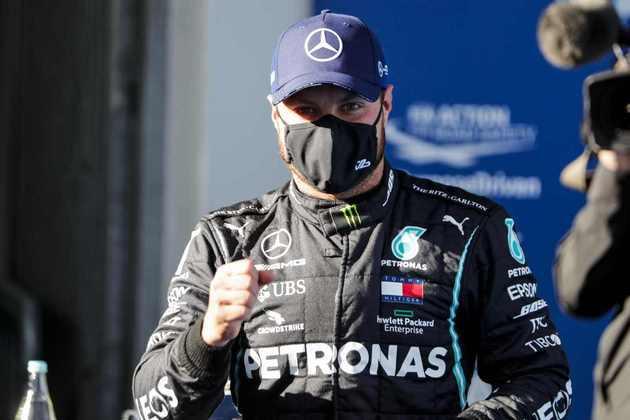 Valtteri Bottas tem 44 pontos de desvantagem para o companheiro Lewis Hamilton