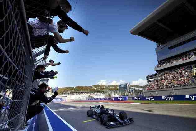 Valtteri Bottas venceu o GP da Rússia, a nona vitória da carreira