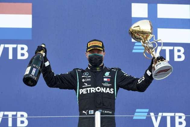 Valtteri Bottas venceu pela segunda vez na temporada 2020