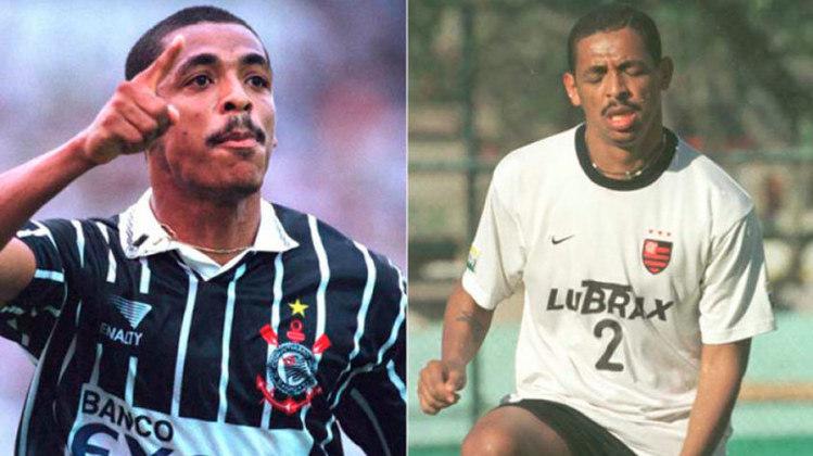VAMPETA – Ao longo de sua carreira, o volante teve três passagens pelo Corinthians, mas também jogou pelo Flamengo, em 2001, onde não deixou saudade.