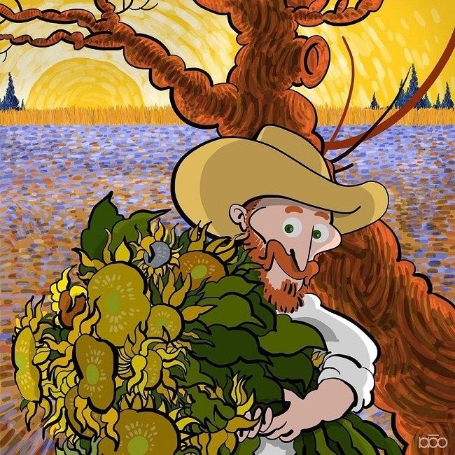 Alireza Karimi Moghaddam quer fazer livro sobre Van Gogh