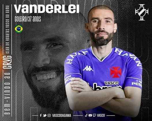 Vanderlei: Em cinco jogos pelo Vasco no Campeonato Carioca, Vanderlei soma 100% de aproveitamento nos passes tentados e oito defesas.