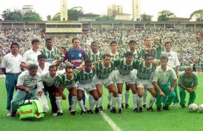 Vanderlei Luxemburgo também confiou no garoto de 22 anos e o promoveu a titular e peça fundamental em um time que já era bicampeão paulista e tinha vencido o Brasileiro de 1993.