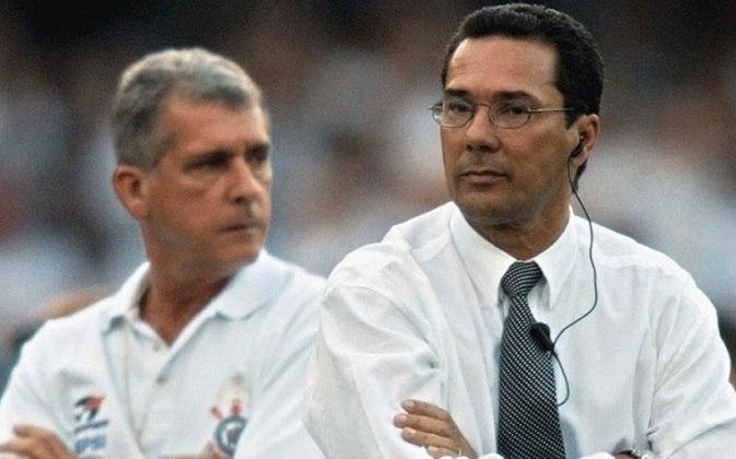 Vanderlei Luxemburgo - Treinou o Corinthians entre fevereiro e dezembro de 2001 - 67 jogos (Conquistou o Paulistão-2001)
