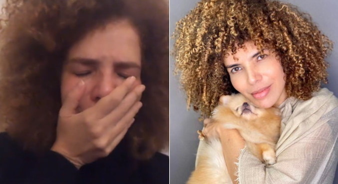 Na web, Vanessa da Mata se mostrou abalada com a perda de sua cachorrinha