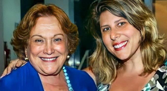 Atriz e apresentadora Vanessa Goulart homenageou Nicette no Dia dos Avós