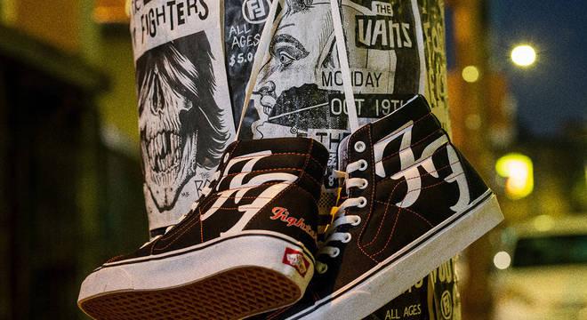 Vans comemora 25 anos do Foo Fighters com Edição Especial do Sk8-Hi