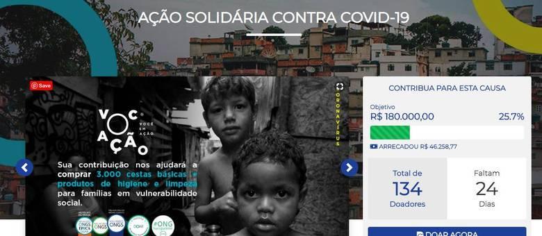 Famílias carentes da zona Sul de São Paulo receberão a ajuda