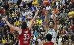 Varejão, seleção brasileira de basquete,