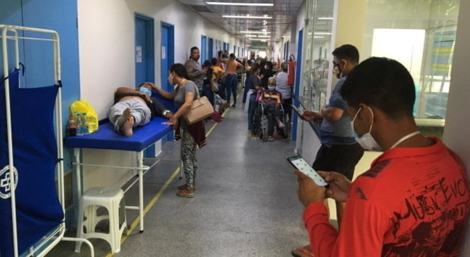 A variante do Brasil apresenta dez vezes mais carga viral nas células do doente
