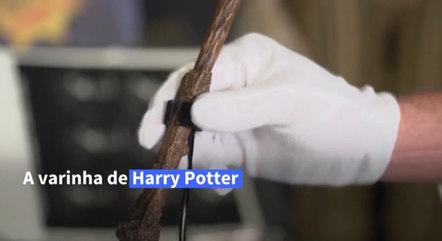 Varinha do Harry Potter é um dos itens do leilão