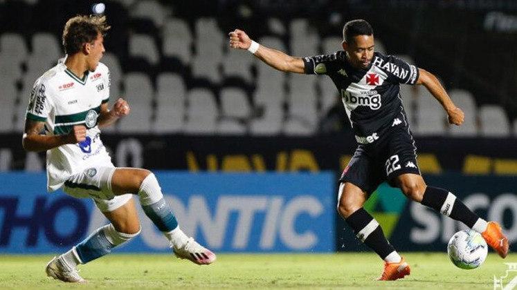 Vasco 0 x 1 Coritiba - 16/1/2021 - A expulsão de Henrique complicou os planos do Vasco. E aquela derrota em casa faz falta.
