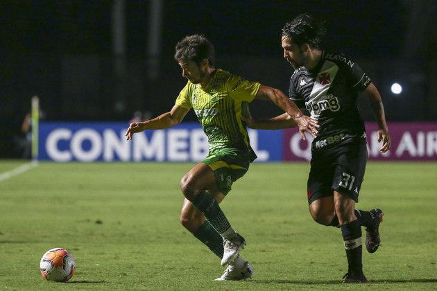 Vasco 0 x 1 Defensa y Justicia - 3/12/2020 - A trapalhada de Lucão e os gols perdidos por Torres e, principalmente, Ribamar, resultaram na eliminação do Vasco na competição.