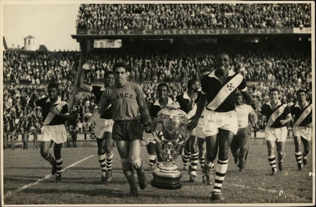 Troféu Teresa Herrera, conquistado em 1957, na Espanha. Motivo de muito orgulho