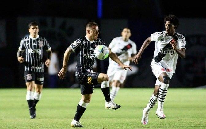 Vasco 1x2 Corinthians - São Januário - Brasileirão 2020
