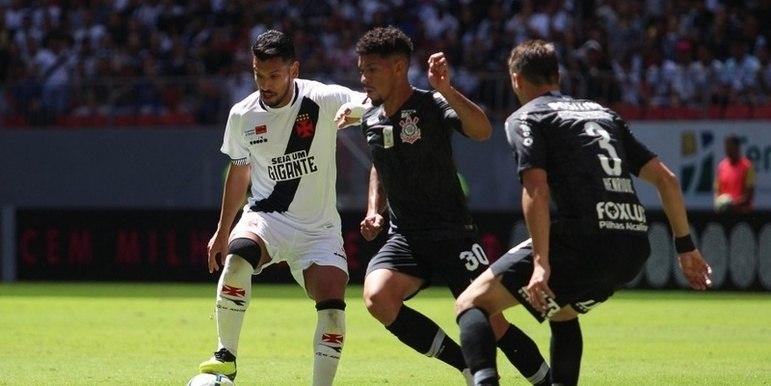 Vasco 1×4 Corinthians – Mané Garrincha – Brasileiro de 2018