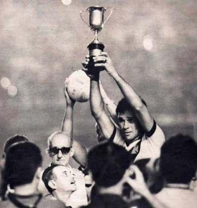 Vasco 2 x 0 Botafogo - 5/9/1965 - A vitória sobre o rival fez do Vasco o primeiro campeão da Taça Guanabara.