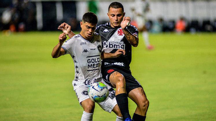 Vasco 3 x 0 Botafogo - 10/1/2021 - Diante do pior time do campeonato, o Cruz-Maltino foi implacável.
