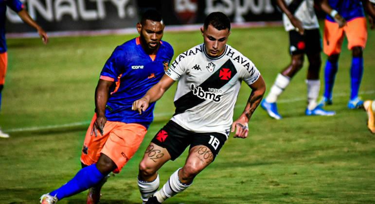 Vasco e Nova Iguaçu empatam por 2 a 2 pela terceira rodada do Cariocão