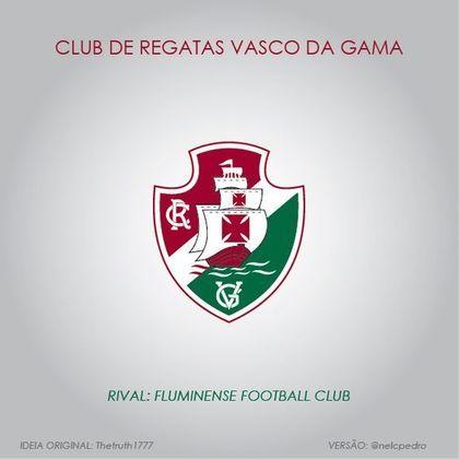 Vasco com as cores do Fluminense