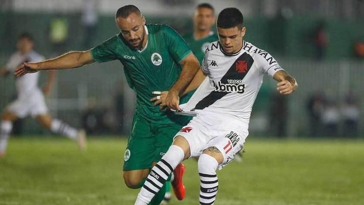 Vasco: eliminou o Boavista com placar agregado de 2 a 1