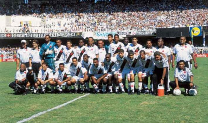 Vasco - 5 títulos: quatro Campeonatos Brasileiros e uma Copa do Brasil