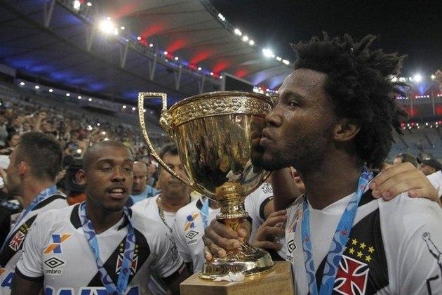 Vasco - Último título: Campeonato Carioca 2016 - Jejum de cinco anos.
