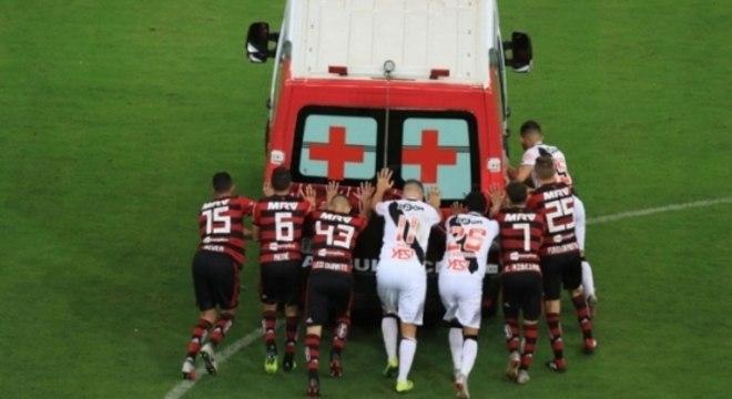 A rivalidade entre Flamengo e Vasco precisa ter limite, respeito, solidariedade