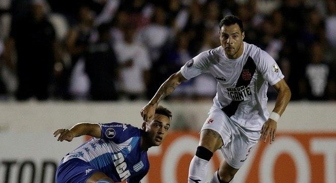Em São Januário, Vasco e Racing ficaram no 1 a 1 pela 4ª rodada da Liberta