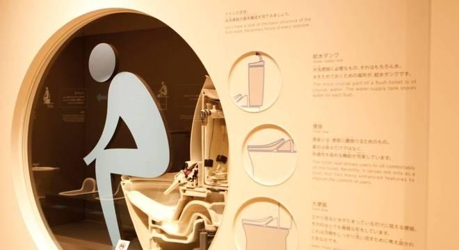 Vasos sanitários são de uso recente no Japão