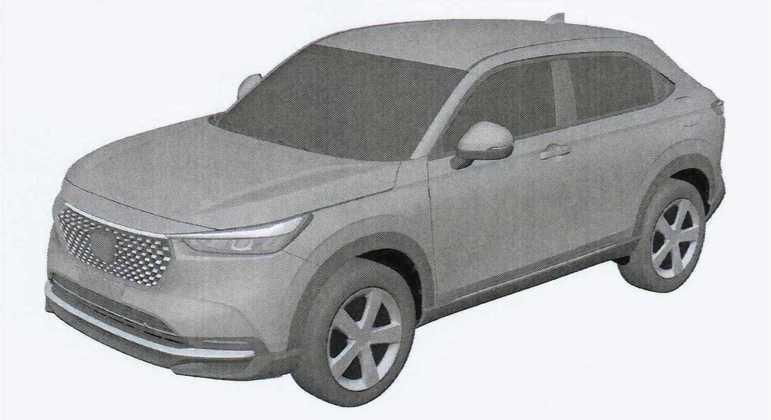 Novo Honda HR-V terá uma nova geração de sistema híbrido chamado de HEV