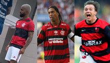 Novo manto chegou! Veja evolução das camisas do Flamengo no século