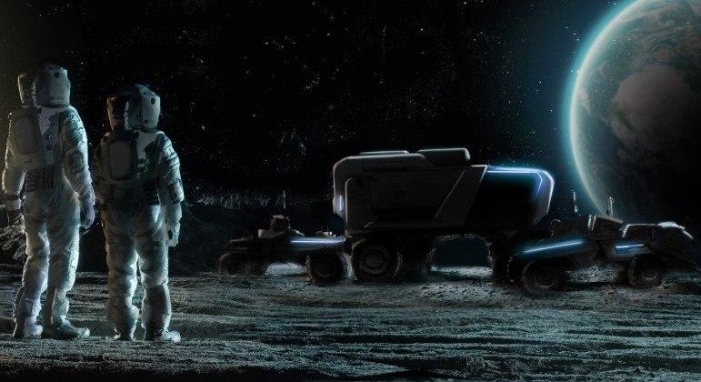 Veículo elétrico autônomo será usado em missões do programa Artemis da Nasa