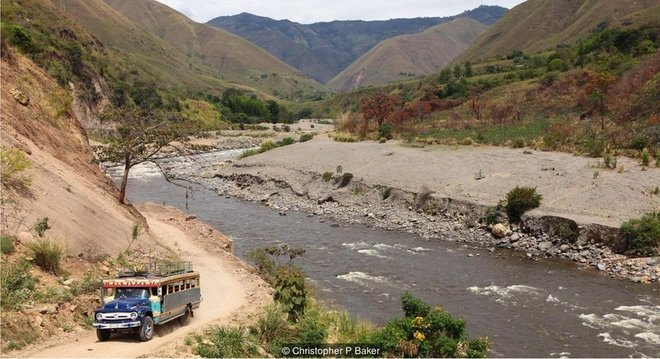A Cordilheira Central da Colômbia já foi perigosa demais para se visitar