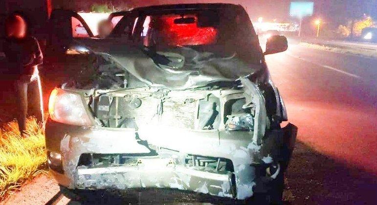 Veículo que atropelou homem na região metropolitana de Porto Alegre