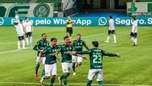 Com gol aos 15 segundos, Palmeiras bate o Grêmio e assume a liderança