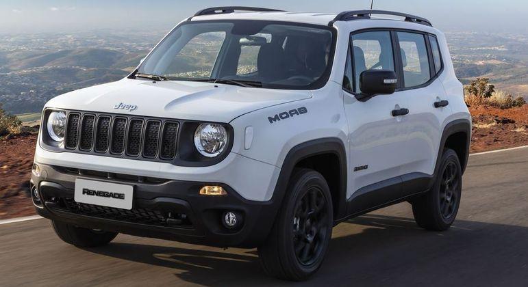 Jeep Renegade teve 5.834 unidades emplacadas