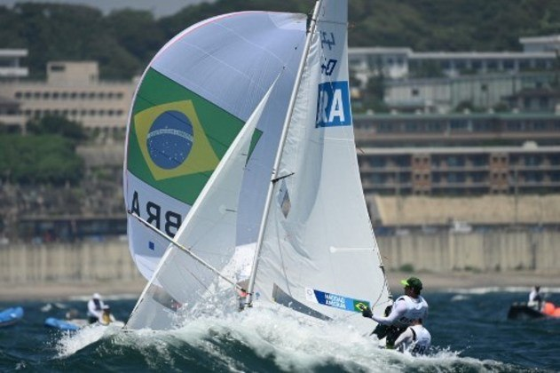 VELA (MASCULINO 170) - Henrique Haddad e Bruno Bethlem ficaram com a 23ª colocação e em seguida terminaram última regata em 14º lugar, completando 16º lugar na classificação geral. Eles foram eliminados e não competem na medal race