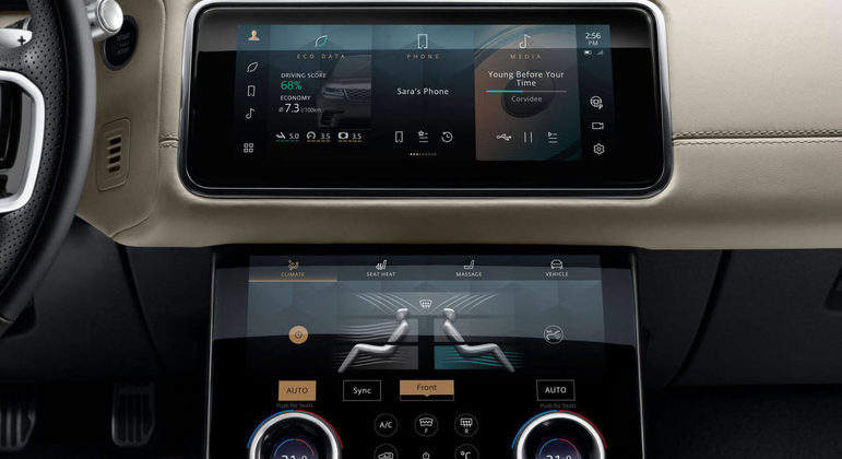 O Range Rover Velar será comercializado no Brasil a partir da última semana de fevereiro em duas versões: R-Dynamic SE e R-Dynamic HSE