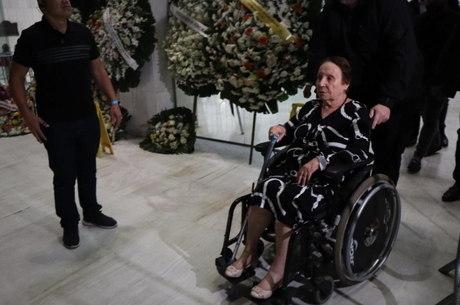 Maria do Céu foi embora com ajuda de cadeira de rodas