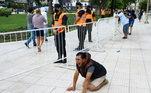 Desespero do torcedor argentino com a morte de Maradona