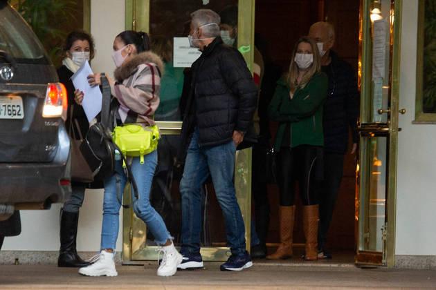 Tarcísio estava internado no Hospital Albert Einstein, em São Paulo, há quase uma semana
