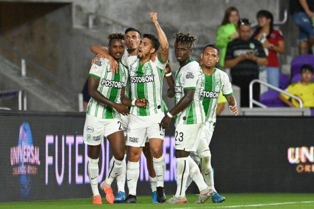 Vencedor da Fase prévia 1 - Atlético Nacional (COL) [foto] ou Libertad (PAR) - Pote 4