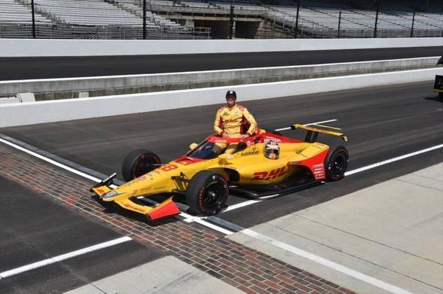 Vencedor em 2014, Ryan Hunter-Reay, #28, da Andretti, é o quinto