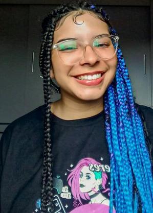 Erika Vieira de Souza, 15 anos