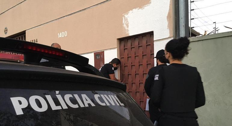 Policiais cumprem três mandados de busca e apreensão nesta quarta-feira (1º)
