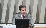 Veneziano Vital do Rêgo (MDB-PB) assume como 1º vice-presidente, lugar que era ocupado Antonio Anastasia (PSD-MG)
