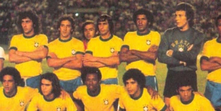 Venezuela 0 x 4 Brasil - Copa América de 1975 -  Jogando em Caracas, a Seleção construiu a goleada com gols de Romeu, Danival e Palhinha (2).