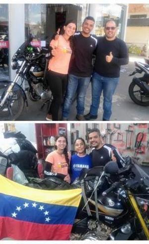 Hospitalidade brasileira à casal que foge da Venezuela