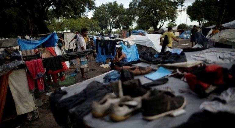 O Brasil recebeu 29 mil pedidos de refúgio no ano passado: 60,2% eram venezuelanos